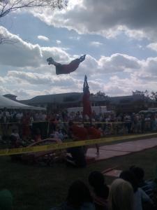 Jesse White Tumblers at Misericordia Fest. G'damn.